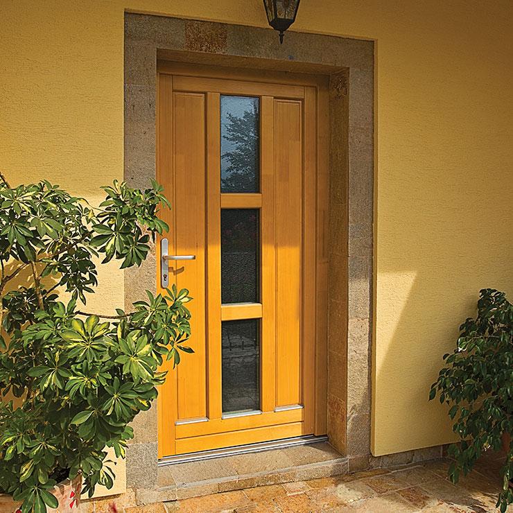 Eingangstüren aus Holz